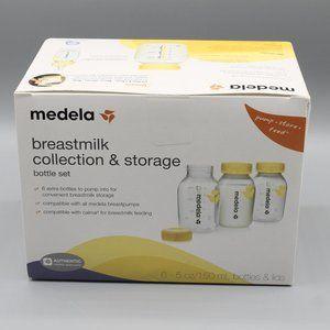 Medela breastmillk collection storage bottle set